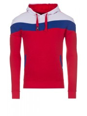 Woosah - sweat hood malphite - red / blue / white (6083)