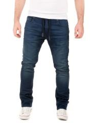 WOTEGA - Noah Sweatpants in Jeans-Look - dress blues (3R4024)
