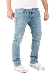 WOTEGA - Noah Sweatpants in Jeans-Look - blue shadow (3R4020)