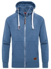 Yazubi Herren Sweatjacke Jacob in blau (Bijou Blue 2R183921)