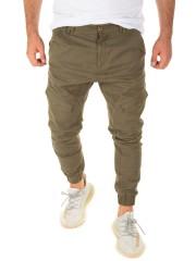 Yazubi - Chino Pants Draven - military green (201601)