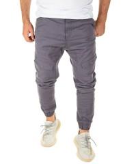 Yazubi - Chino Pants Draven - grey (3003)