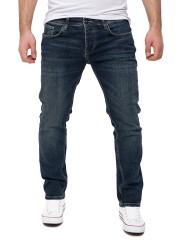WOTEGA Herren Jeans Alistar in dunkel blau (Total Eclipse 194010)