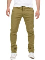 Yazubi - Kyle Chino Pants - dusky green (4R170517)