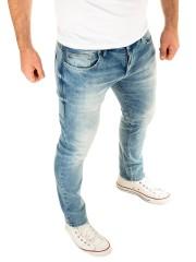 WOTEGA Herren Jeans Alistar in denim blau (Filint Stone 183916)
