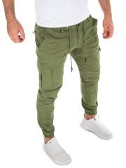 Yazubi - Cargo Pants Elijah - dusky green (4R170517)